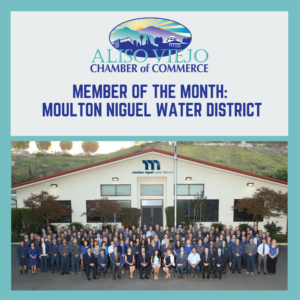 Aliso Viejo Chamber of Commerce Member of the Month: Moulton Niguel Water District